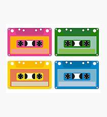 audio cassette Photographic Print