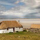 Thatched Cottage. Malacleit. Traigh Bhalaigh. North Uist.Scottish Highlands and Islands. by PhotosEcosse