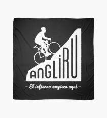 "Angliru climb ""El infierno empieza aquí"" cycling Vuelta España Scarf"