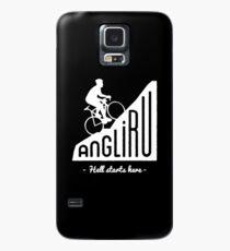 "Angliru climb ""Hell starts here"" cycling Vuelta España Case/Skin for Samsung Galaxy"