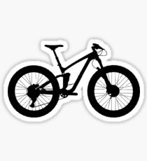 Big White Bike | Sports Sticker