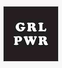 GRL PWR Fotodruck