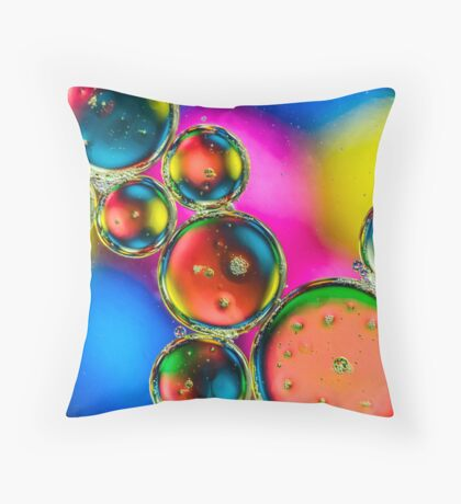 Oil & Water 3 Throw Pillow