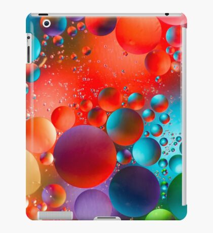 Oil and Water iPad Case/Skin