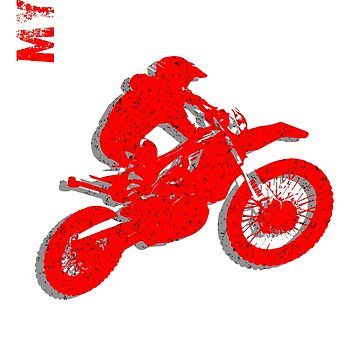 Motorcross Dirt Bike Off Road T-Shirt by BPFMarketing