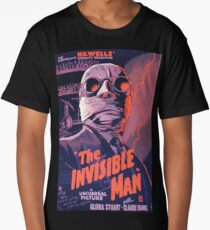 The Invisible Man - classic science fiction movie Long T-Shirt