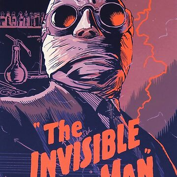 The Invisible Man - classic science fiction movie by Antxoita