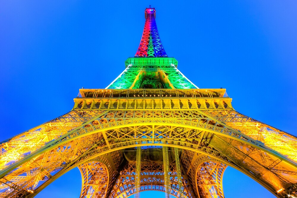 Eiffel Tower 2 by John Velocci