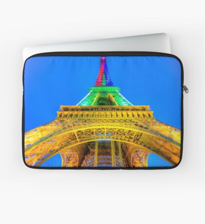 Eiffel Tower 2 Laptop Sleeve