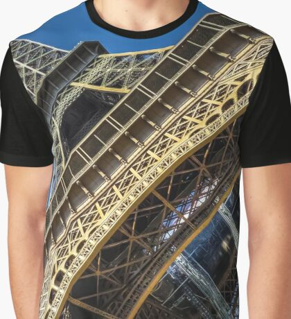 Eiffel Tower 3 Graphic T-Shirt