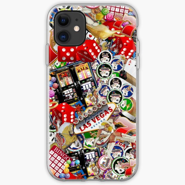 Gamblers Delight - Las Vegas Icons iPhone Soft Case