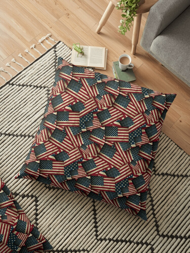 Patriotic Grunge-style American Flag by Gravityx9