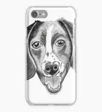 Boomer the barfing barking ball-obsessed beagle iPhone Case/Skin