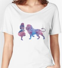 A lion and a girl Women's Relaxed Fit T-Shirt