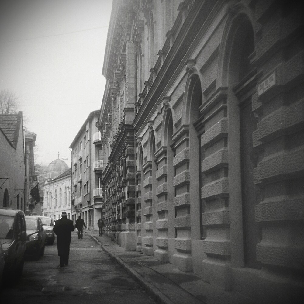 Following Bruno through the alley... by chocomalk