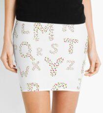 Spring Alphabet Mini Skirt