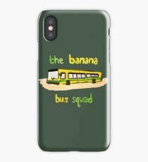 Banana Bus Squad iPhone Case/Skin