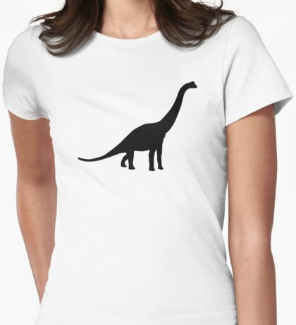 Brachiosaurus Womens Fitted T-Shirt