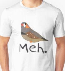 Zebra Meh Unisex T-Shirt