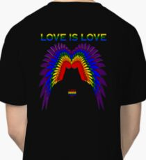 Love Is Love - Gay Pride Cairns 2017 Classic T-Shirt