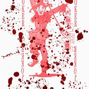 Bloody Joker by GiggleSnorts