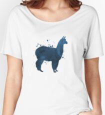A cute llama Women's Relaxed Fit T-Shirt