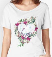 Vegan Love Women's Relaxed Fit T-Shirt