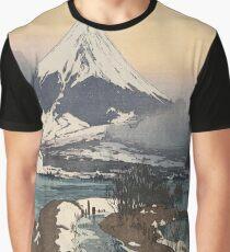 Fuji from Kawaguchiko Lake by Hiroshi Yoshida Graphic T-Shirt