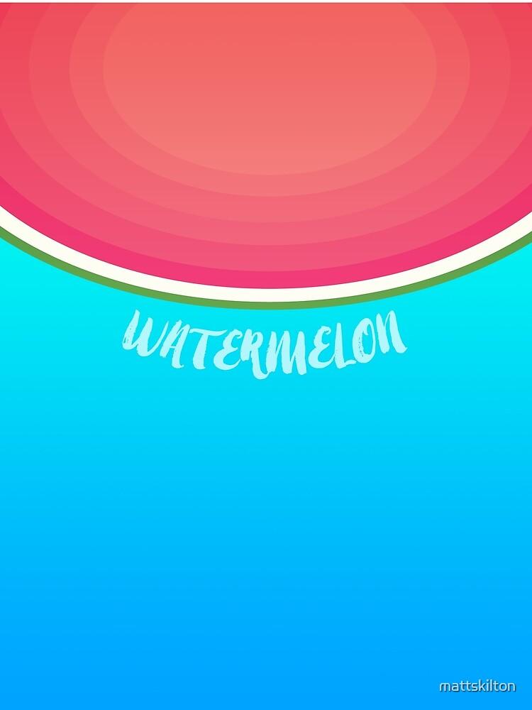 Watermelon by mattskilton