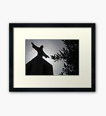 Lisboa // Cristo Rei Framed Print