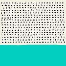 Aqua and Dots by Leah Flores