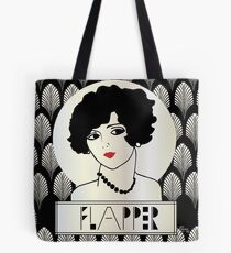 1920s FLAPPER GIRL Tote Bag