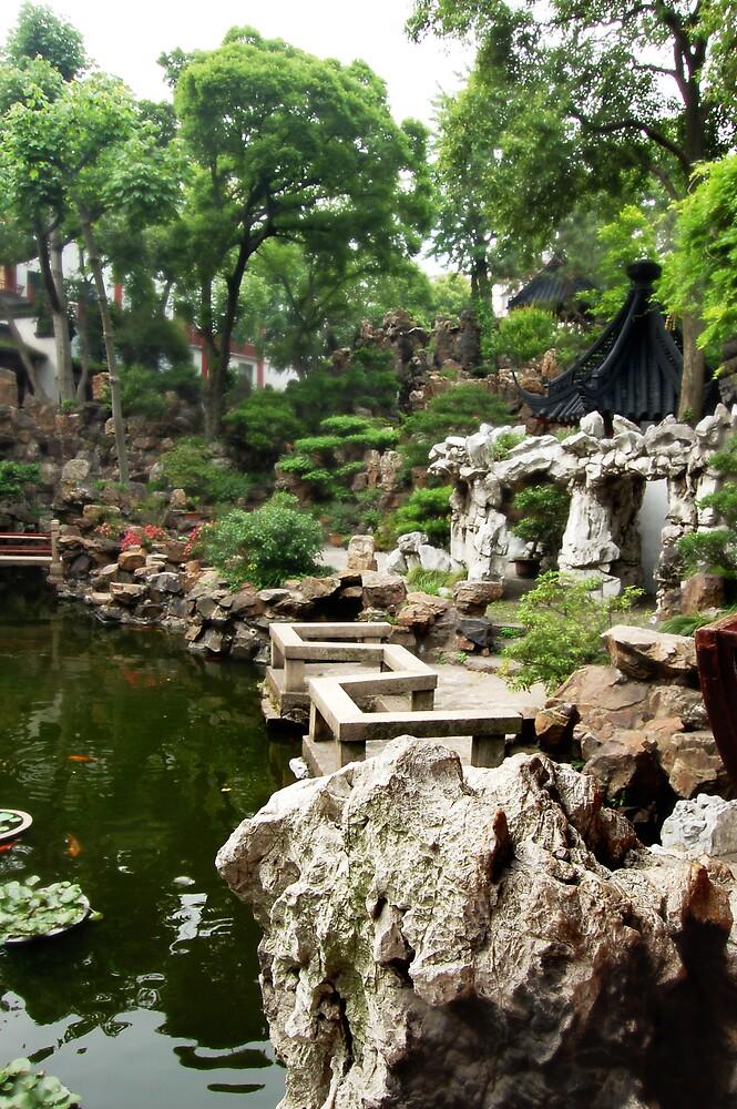 Charming Garden by Frederick Tanjaya