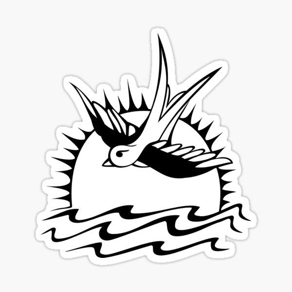 Le tatouage de Jack Sparrow Sticker