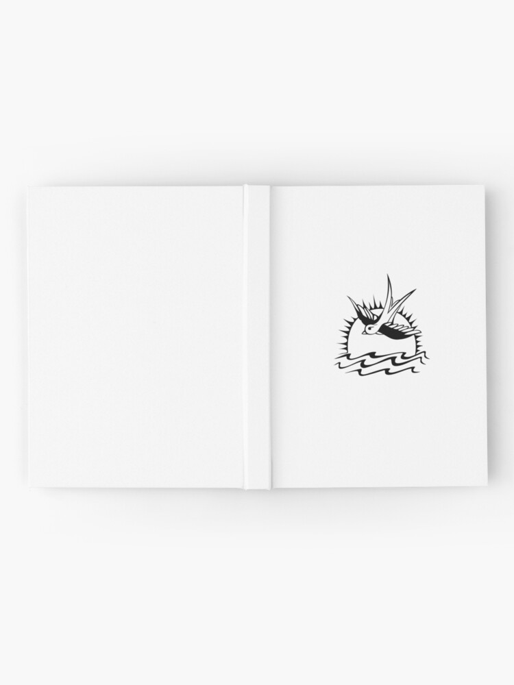Alternative Ansicht von Jack Sparrows Tattoo Notizbuch