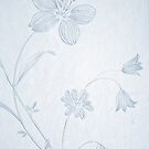 Vintage Wallpaper Pattern by Nicola  Pearson