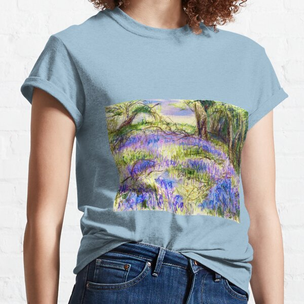 Bluebells by Dolfor Rd, Pen & Pencil Artwork Classic T-Shirt