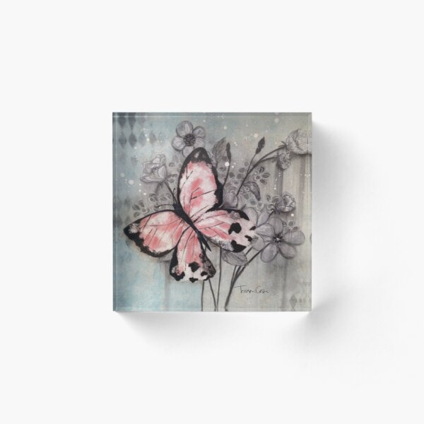 Butterfly Abounds Acrylic Block