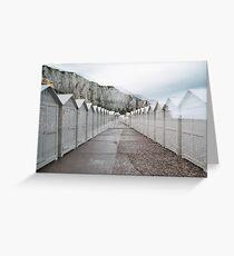 Film Photography: Near the sea #2 Greeting Card