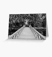 Löwensbrücke Greeting Card