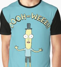 Rick & Morty Mr Poopy Butthole Oooh Weee!! Graphic T-Shirt
