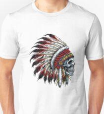 Indischer Schädel Unisex T-Shirt