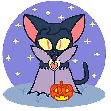 Vampire Kitty by RoseCraft