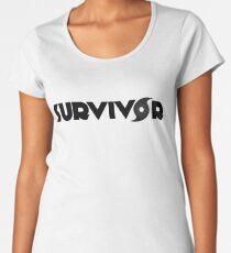 Hurricane Harvey, Irma Survivor Women's Premium T-Shirt