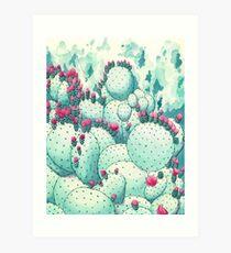Dot dot dot handcramp 2 Art Print