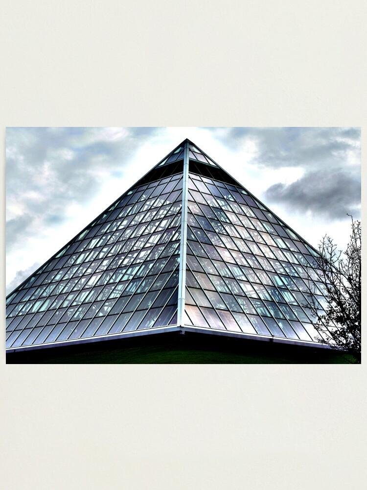 Alternate view of Alien Pyramid Photographic Print