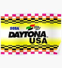 Daytona USA Art Poster