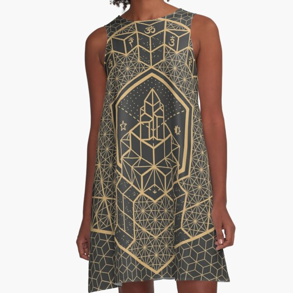 The Inner Truth A-Line Dress