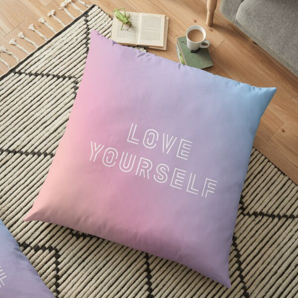 BTS LOVE YOURSELF PASTEL Coussin de sol