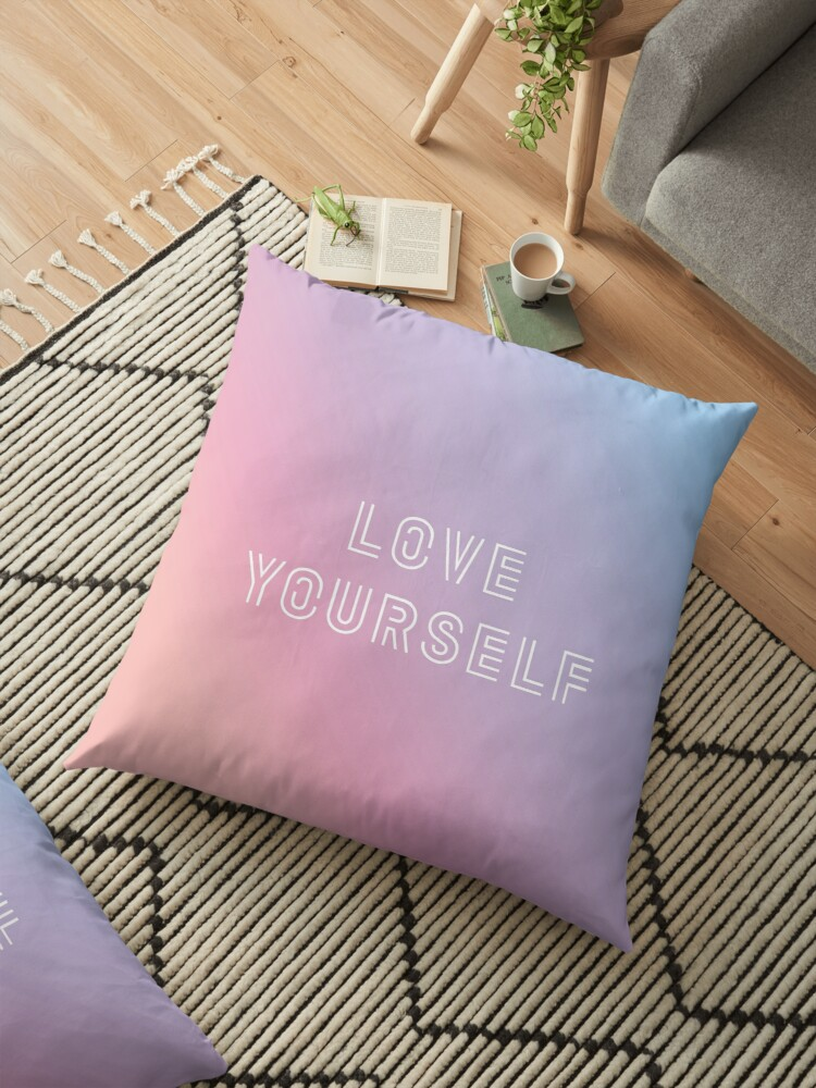 Bts love yourself pastel floor pillows by yoshfridays redbubble bts love yourself pastel by yoshfridays solutioingenieria Images